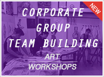 Corporate-Groups-Team Building art workshops