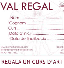 Regala un curs d'art
